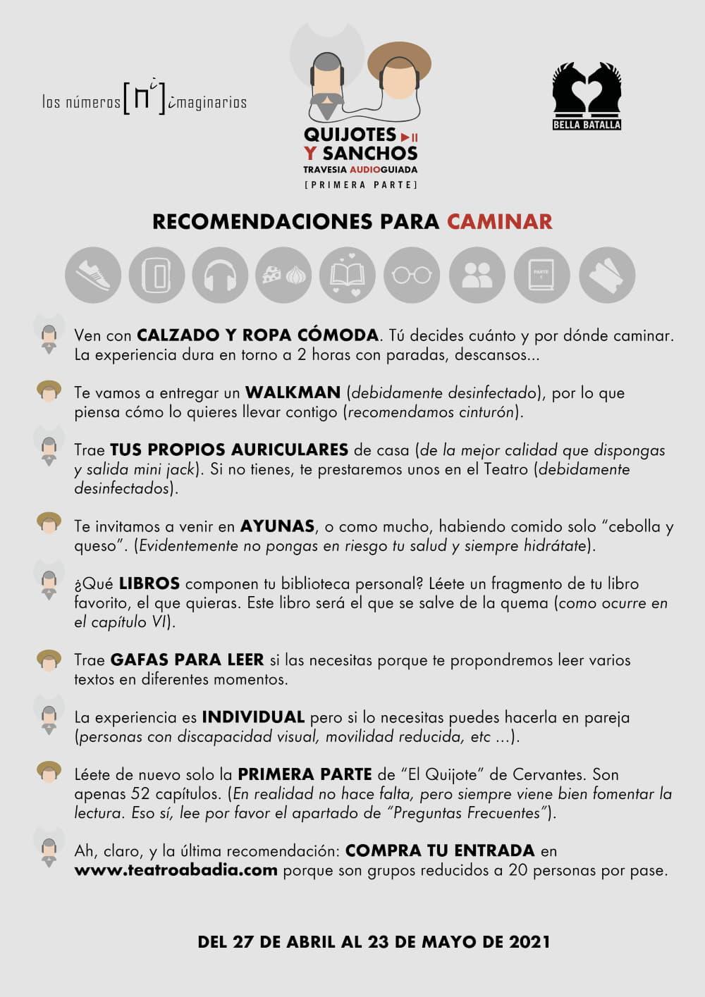 recomendaciones caminar